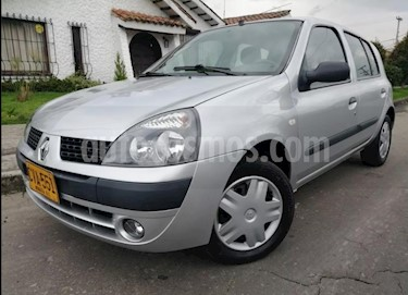 Foto venta Carro usado Renault Clio cool (2008) color Plata precio $14.800.000