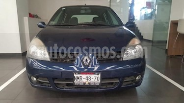 Renault Clio 5P EXPRESSION AUT A/A E/E CD ABS usado (2009) color Azul Marino precio $79,900