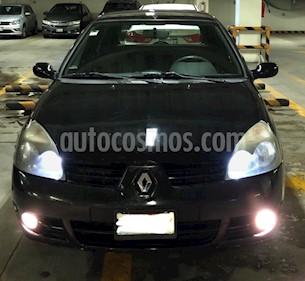 Renault Clio 1.6L Expression Aut usado (2018) color Negro precio $60,000