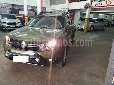 Renault Duster Oroch Dynamique  usado (2018) color Verde Esmeralda precio $879.000