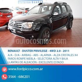 Foto venta Auto usado Renault Duster Oroch Dynamique 2.0 4x4 (2011) color Negro
