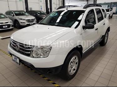 Foto venta Auto usado Renault Duster 5p Expression L4/2.0 Man (2015) color Blanco precio $149,000