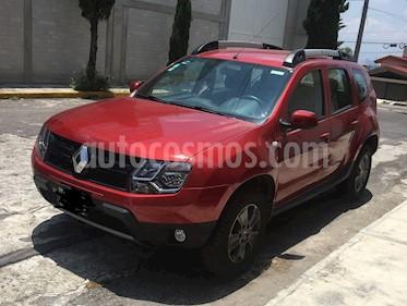 Renault Duster Dynamique Aut Pack usado (2017) color Rojo Fuego precio $194,000