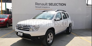 Foto venta Auto usado Renault Duster Dynamique (2015) color Blanco Glaciar precio $185,000