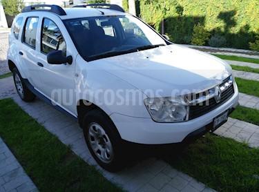 Foto venta Auto usado Renault Duster Expression Aut (2013) color Blanco Glaciar precio $119,500