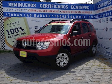 Foto Renault Duster Expression usado (2017) color Rojo Fuego precio $199,000