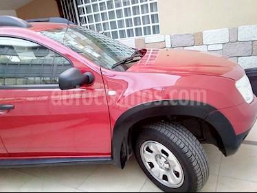 Renault Duster Expression  usado (2014) color Rojo Fuego precio $148,000
