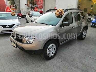 Renault Duster Expression Aut usado (2017) color Bronce Castano precio $185,000