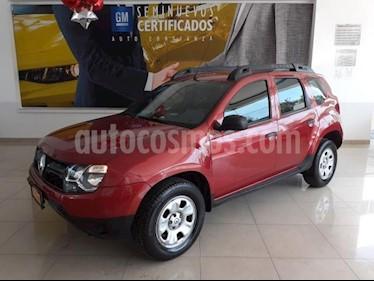 Renault Duster 5p Expression L4/2.0 Aut usado (2017) color Rojo precio $205,900