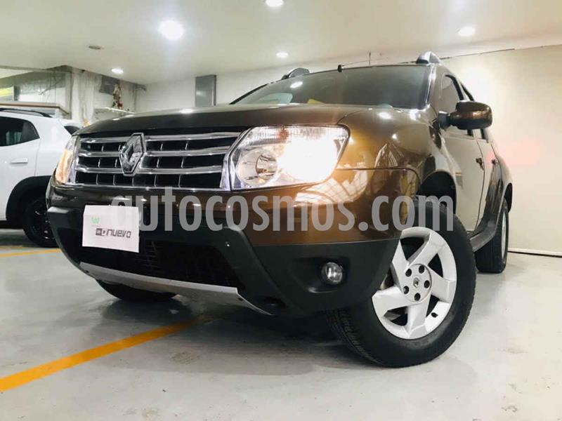 Renault Duster Dynamique Aut Pack usado (2015) color Cafe precio $159,000