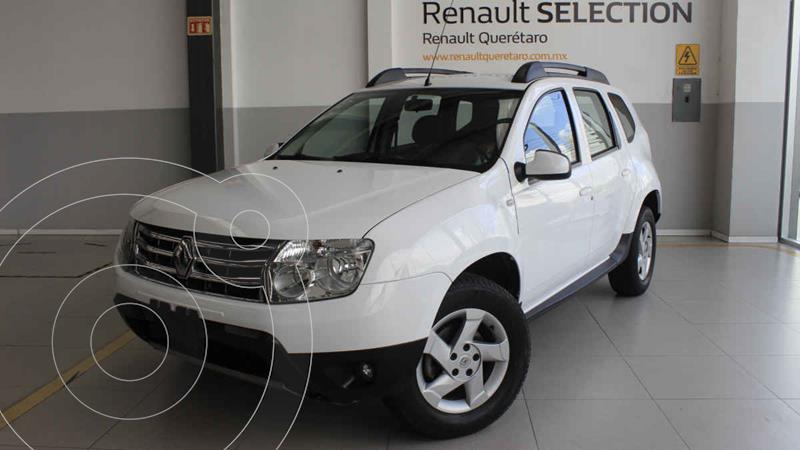 Foto Renault Duster Dynamique Aut usado (2015) color Blanco precio $202,000