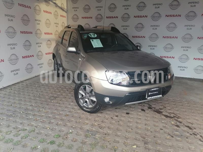Renault Duster Dynamique Aut usado (2017) color Bronce Castano precio $190,000