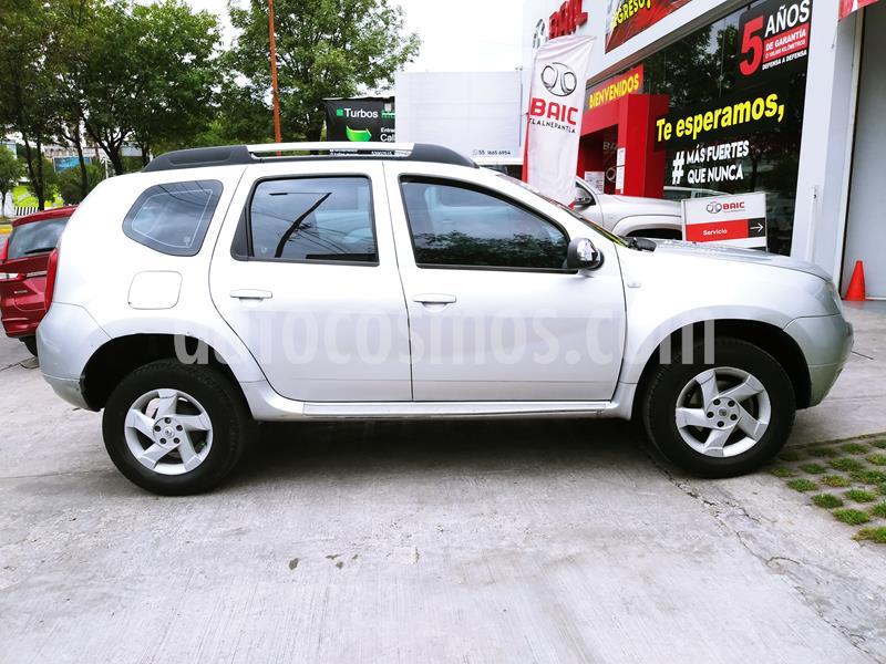 Renault Duster Dynamique Aut usado (2013) color Plata precio $119,000