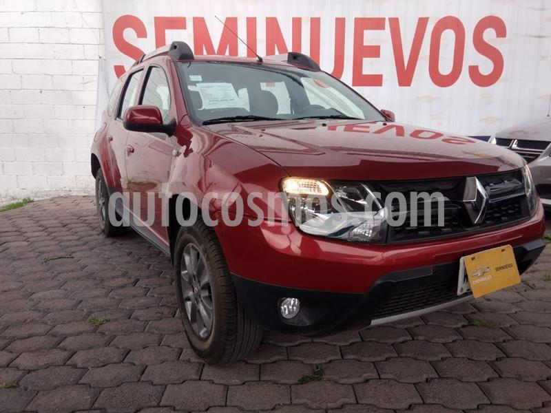 Renault Duster Dynamique Aut Pack usado (2017) color Rojo precio $195,000