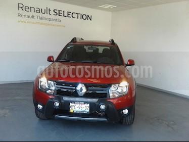 Renault Duster Dynamique Aut usado (2017) color Rojo Fuego precio $210,000