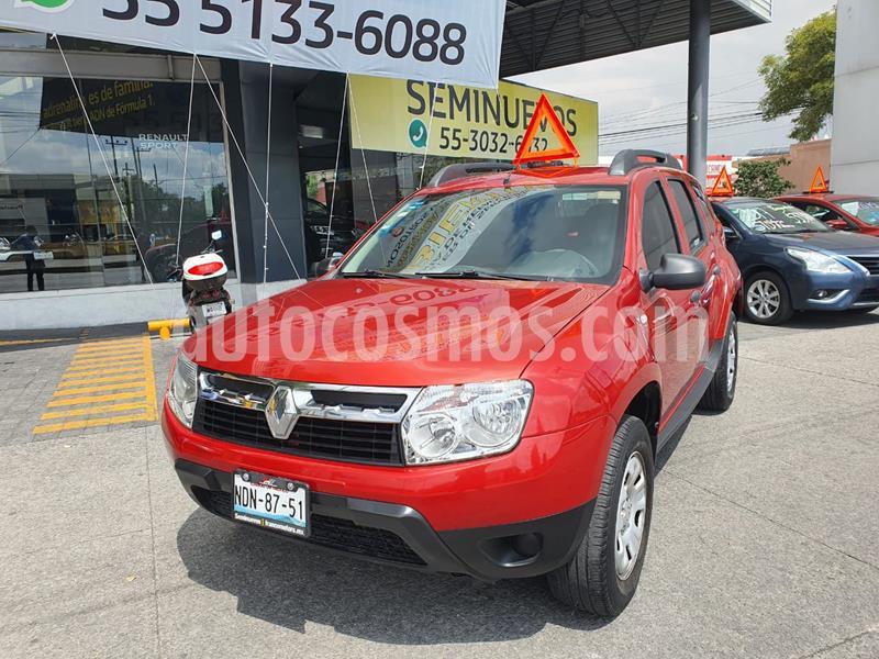 Renault Duster Expression  usado (2014) color Rojo Fuego precio $148,900