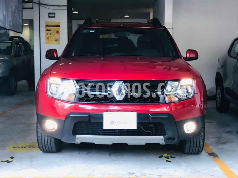 Renault Duster Dynamique Aut usado (2017) color Rojo precio $186,000