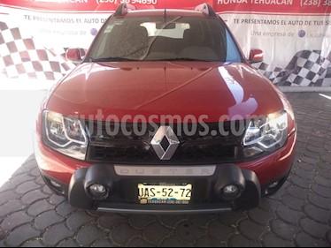 Renault Duster Dynamique Aut Pack usado (2017) color Rojo Fuego precio $183,000