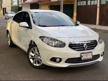 Foto venta Auto usado Renault Fluence 4p Dynamique L4/2.0 Aut (2013) color Blanco precio $134,000