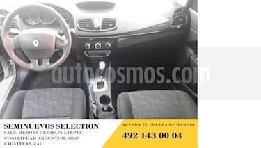 Renault Fluence 4p Expression L4/2.0 Aut usado (2017) color Plata precio $195,000