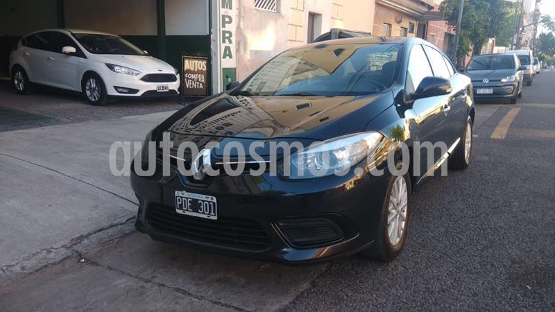 Renault Fluence Dynamique 1.6 Pack usado (2015) color Negro precio $860.000