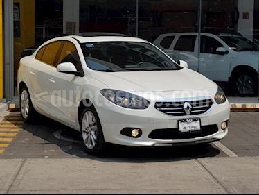 Foto venta Auto usado Renault Fluence Dynamique CVT (2014) color Blanco Perla precio $155,000