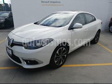 Foto venta Auto usado Renault Fluence Dynamique CVT (2017) color Blanco Perla precio $200,000