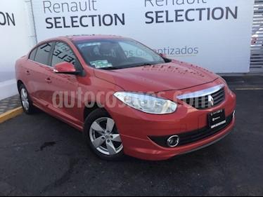Foto venta Auto usado Renault Fluence Dynamique CVT (2012) color Rojo precio $135,000