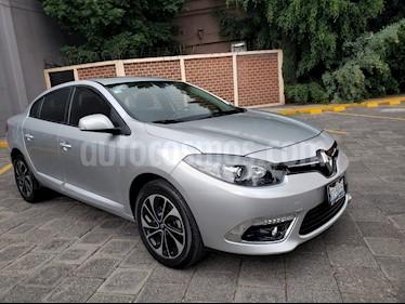 Foto venta Auto usado Renault Fluence Dynamique CVT (2017) color Plata Ultra precio $215,000