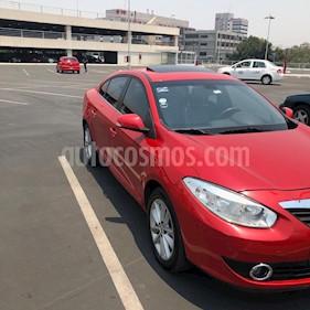 Renault Fluence Dynamique CVT usado (2012) color Rojo precio $120,000