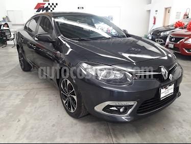 Foto venta Auto usado Renault Fluence Dynamique CVT (2018) color Gris Tormenta precio $217,000