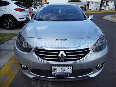 Foto venta Auto usado Renault Fluence Expression CVT (2014) color Plata precio $138,000