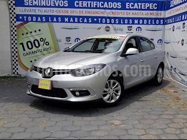 Foto venta Auto usado Renault Fluence Expression CVT (2016) color Plata Ultra precio $179,000