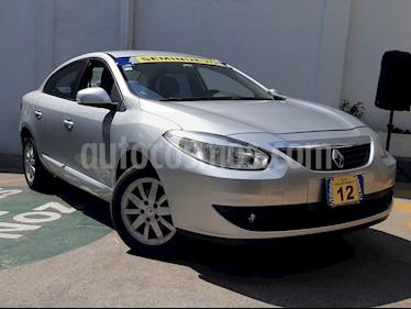 Foto venta Auto usado Renault Fluence Expression CVT (2012) color Plata precio $124,500