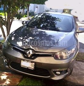 Foto venta Auto usado Renault Fluence Expression (2015) color Gris Tormenta precio $145,000