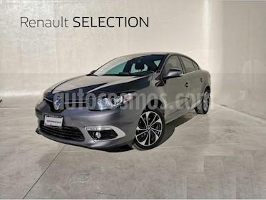 Renault Fluence Privilege CVT usado (2017) color Gris Tormenta precio $200,000