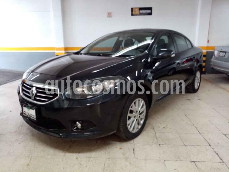 Renault Fluence Expression CVT usado (2014) color Negro precio $135,000