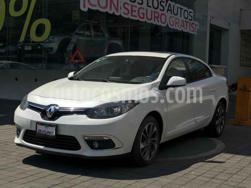 Renault Fluence Dynamique CVT usado (2015) color Blanco precio $155,000