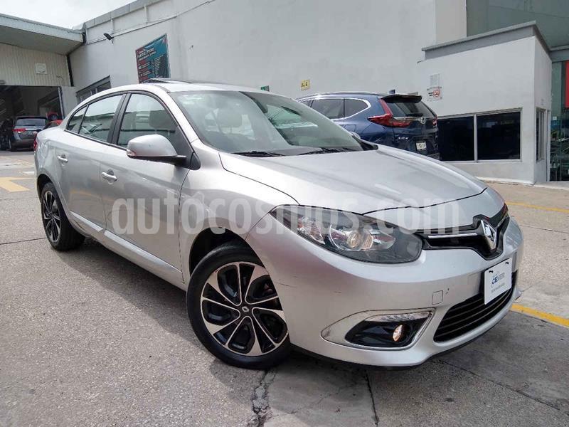 Renault Fluence Dynamique CVT usado (2017) color Plata precio $200,000