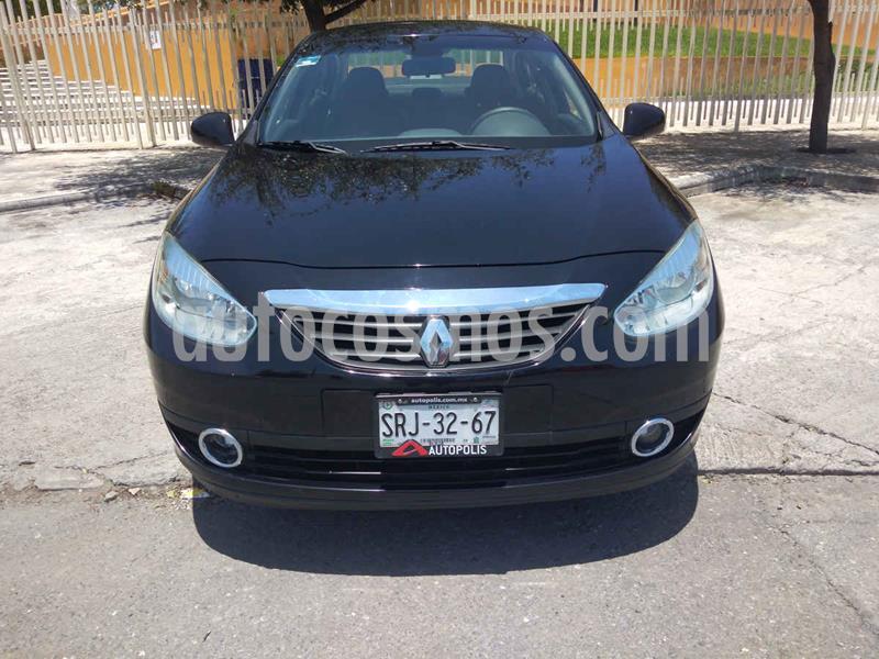 Renault Fluence Dynamique Pack CVT usado (2012) color Negro precio $117,900