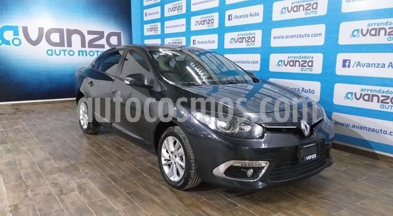 Renault Fluence Authentique CVT usado (2015) color Gris Oscuro precio $160,000