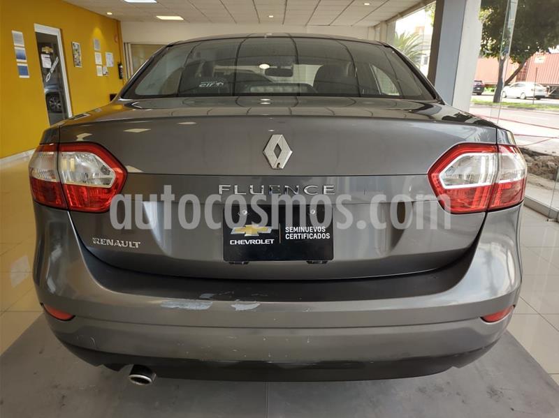Renault Fluence Expression CVT usado (2017) color Gris precio $160,000
