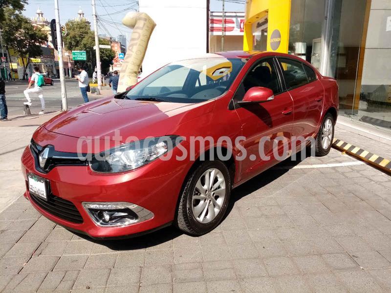 Renault Fluence Expression CVT usado (2017) color Rojo precio $175,000