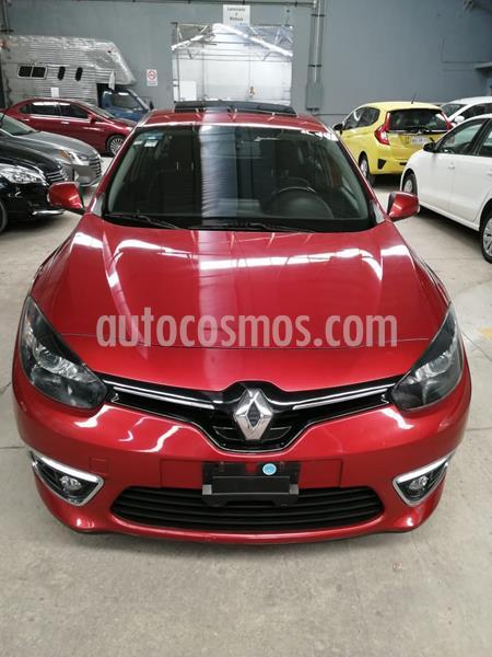 Renault Fluence Dynamique CVT usado (2017) color Rojo precio $200,000