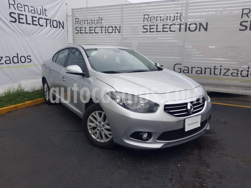 Renault Fluence Dynamique usado (2014) color Gris Plata  precio $135,000