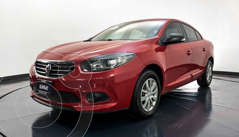 Renault Fluence Authentique usado (2013) color Rojo precio $122,999