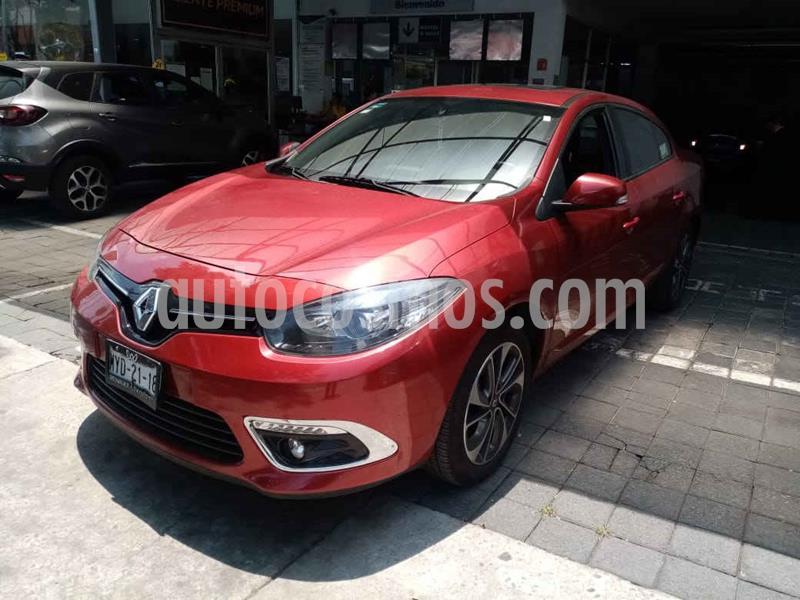 Renault Fluence Dynamique CVT usado (2016) color Rojo precio $169,000