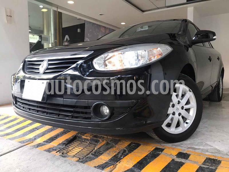 Renault Fluence Expression CVT usado (2012) color Negro precio $101,000