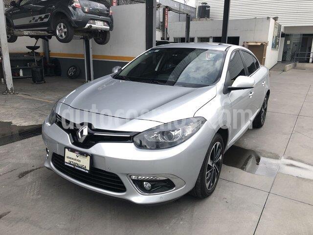 Renault Fluence Privilege CVT usado (2017) color Plata Ultra precio $215,000