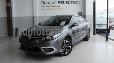 Renault Fluence 4p Pivilege L4/2.0 Aut usado (2017) color Gris precio $245,000